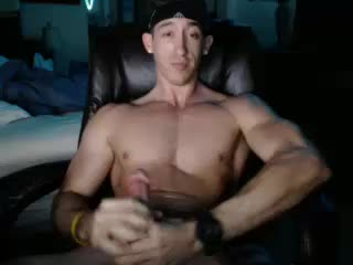 Muscular Stud MattFoxxx Plays With His Penis