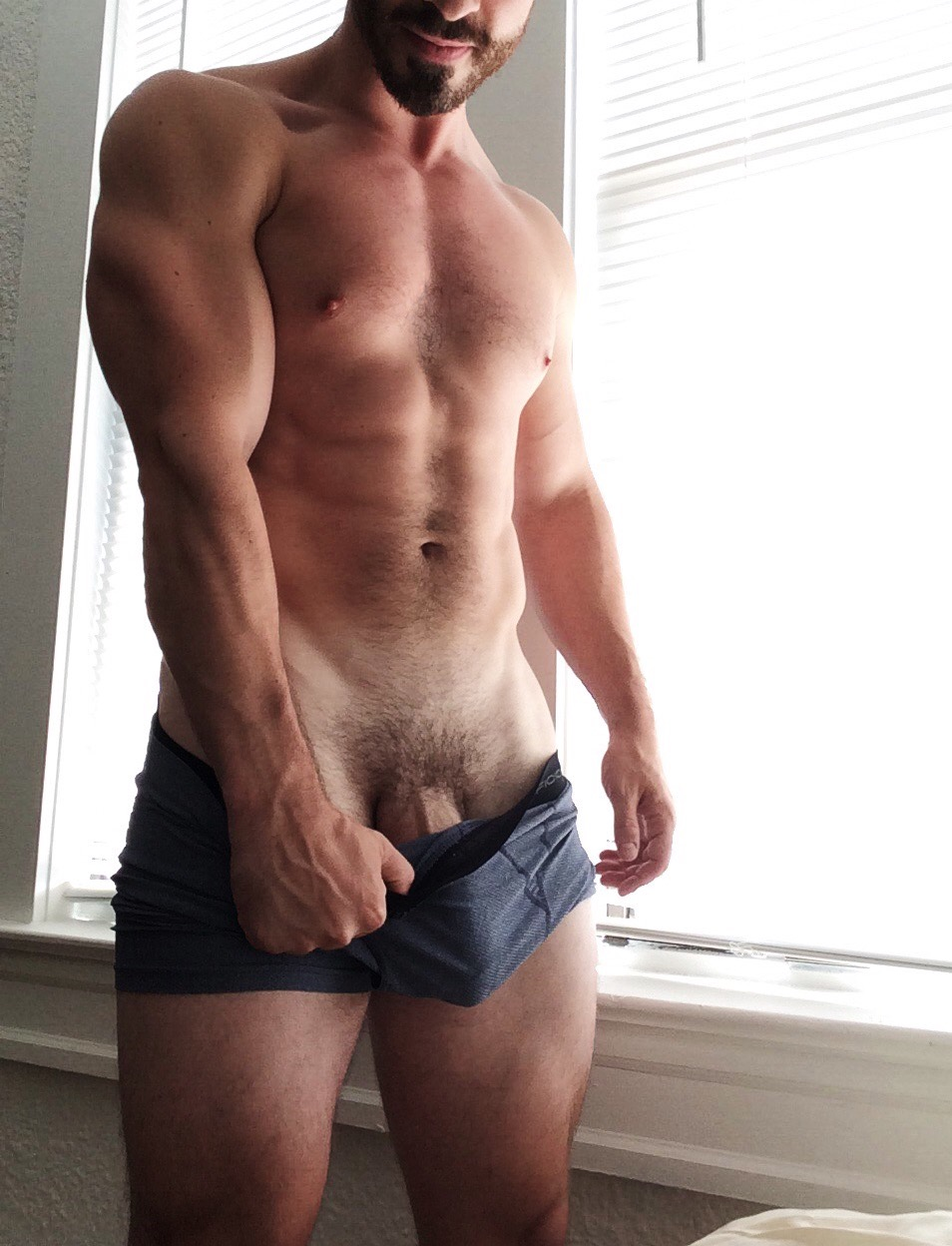 Chocolate Hunk Gets Naked