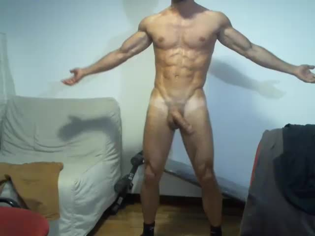 Hot latino with slippery ass