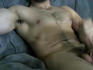 Cam Gay Bear Razeen111 Masturbates Nice Prick