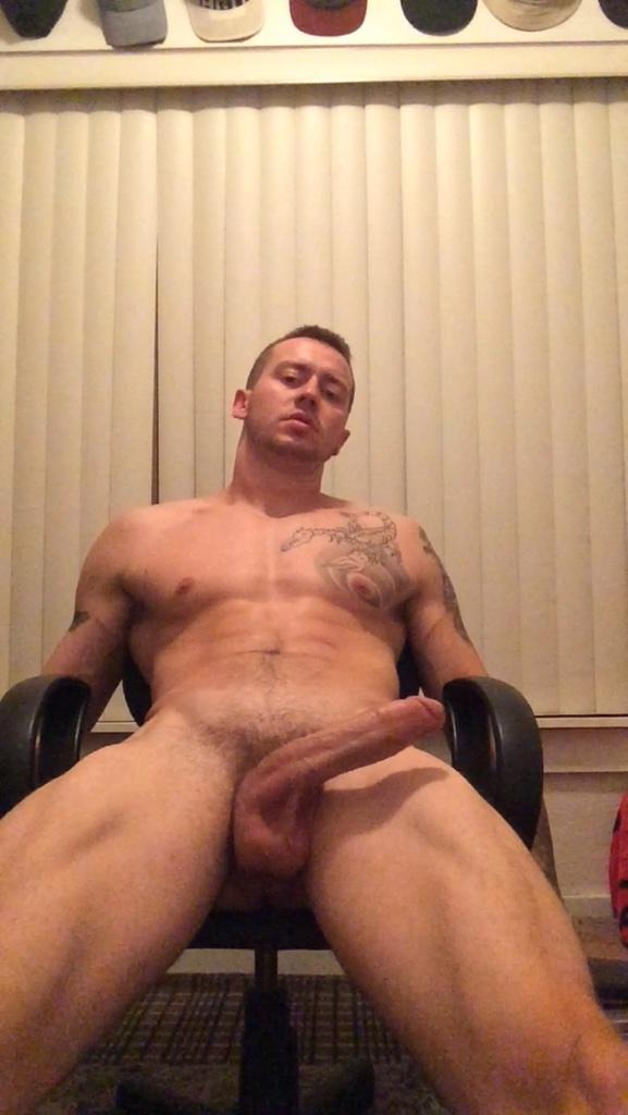 muscular big cock