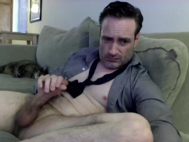 Straight Guy Zackball7 Masturbates On Webcam Show