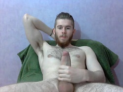 Horny Student Frees His Big Prick And Plays With It On Gay Cam