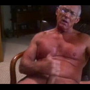 Playful Grandpa Masturbates Every Day On Gay Cam