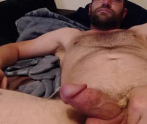 American Gay Bear Flashes His Tiny Cock On Cam