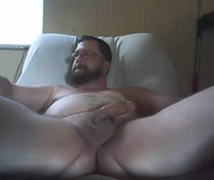 Chubby Cam Gay Guy William Naked On The Couch