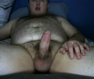 Chubby Cam Gay Guy Sam Exposes His Hairy Dick