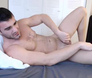 Muscular Stud Brad Masturbates Himself On Gay Live Webcam