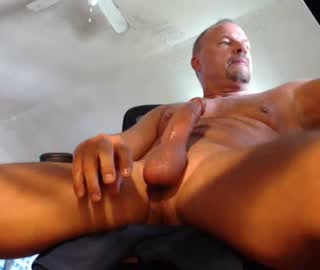 Sexy Mature Gay Guy Jason Bares His Long Penis On Cam Show