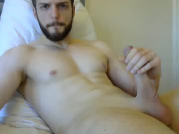 Handsome British Gay Cam Guy Chris Masturbates His Hung Dick