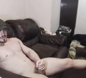 Muscular Guy Billy Wanks Off On Gay Webcam