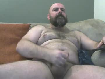 British Gay Bear Matt Wanks Off On The Webcam