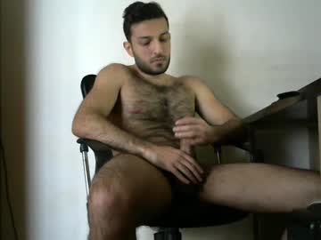 Hairy Turkish Gay Dude Is Looking Sexy On His Webcam