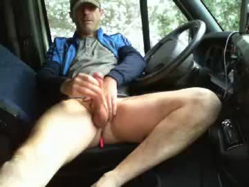 French Gay Guy Jack Jerks Off In The Truck