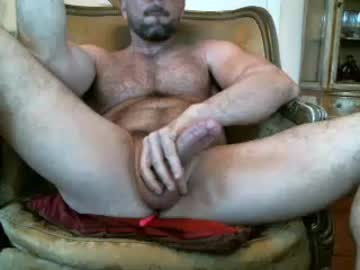 Muscular Gay Bear Masturbates His Huge Cock For Cash On Cam