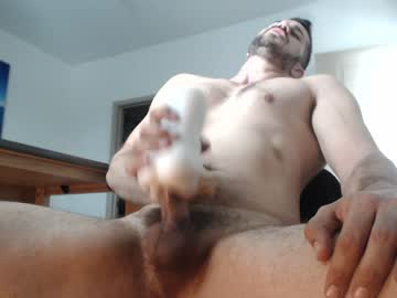 Sexy Alpha Male Jax Fucks His Fleshlight On Gay Cam