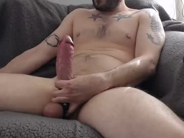 Tattooed Guy Teases Us With His Huge Dick