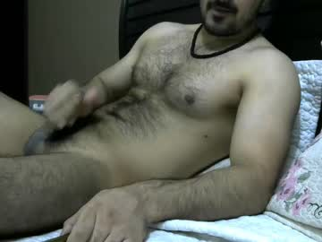 Hot Arab Guy With A Hairy Body And A Nice Cock On Webcam