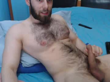 Hot Hairy Guy Steve Shows Off His Muscles And Uncut Dick