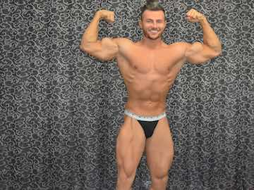 Hung Muscle Guy Charming Joshua On Cam