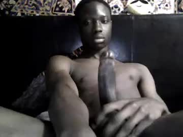 Young Black Gay Guy Flashes His Big Penis On The CB