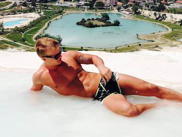 Blonde Russian Gay Stud Pashka X On Live Cam