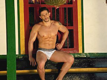 Dominant Muscular Latino Guy Keizzer On Gay Cam