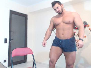 Muscle Live Guy Ian Hunk From Flirt4Free