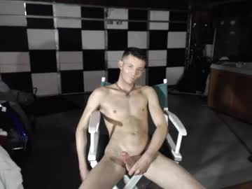 Horny guy whacking off on cam