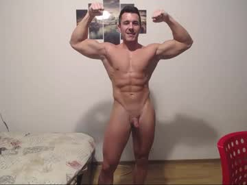 Muscular Dutch Gay Roberto4ever Poses Naked