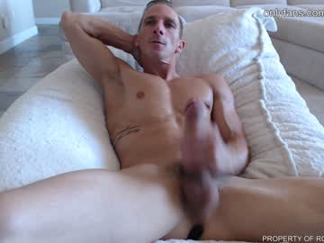 Sexy Cam Stud Roughrider420 Plays With His Huge Dick