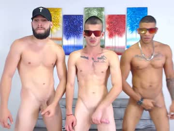 Three Sexy Latin Men Querhyus Do A Gay Cam Show