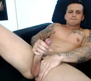 Straight Muscled Cam Guy Domlovetats33