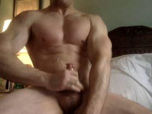 Muscular Cam Dude Michaelinwdc Cums