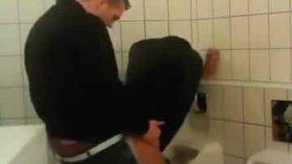 Brit Chavs Breeding In Public Bathroom